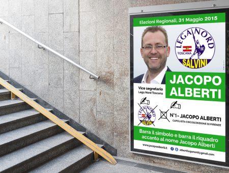 Campagna politica per Jacopo Alberti