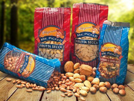 Brand e packaging Mr. Picker