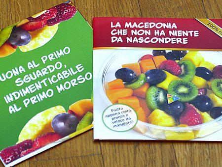 Depliant promozionale per Fruttital
