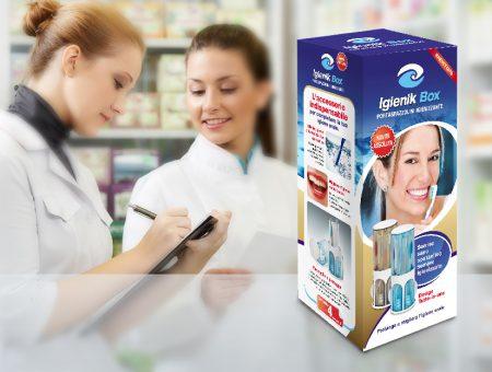 Packaging per Igienik Box
