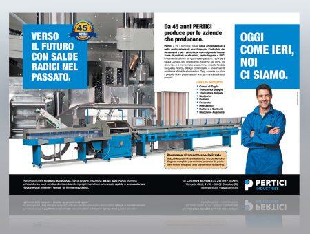 Doppia pagina Pertici Industries