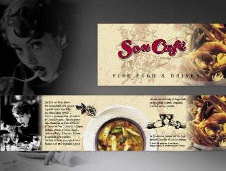 Menù per Sox Cafè