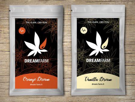 Packaging per DREAM FARM